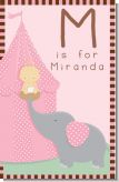 Our Little Peanut Girl - Personalized Baby Shower Nursery Wall Art