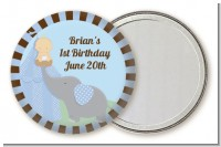 Our Little Boy Peanut's First - Personalized Birthday Party Pocket Mirror Favors