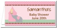 Our Little Peanut Girl - Personalized Baby Shower Place Cards