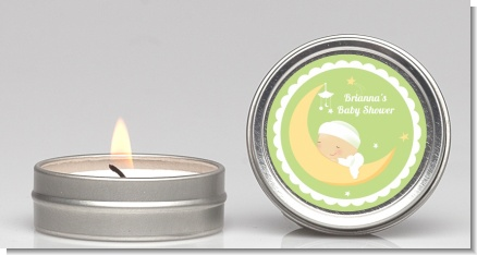 Over The Moon - Baby Shower Candle Favors