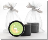 Over The Moon - Baby Shower Black Candle Tin Favors