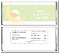 Over The Moon - Personalized Baby Shower Candy Bar Wrappers