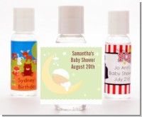 Over The Moon - Personalized Baby Shower Hand Sanitizers Favors