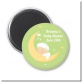 Over The Moon - Personalized Baby Shower Magnet Favors