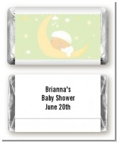 Over The Moon - Personalized Baby Shower Mini Candy Bar Wrappers