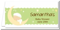Over The Moon - Personalized Baby Shower Place Cards