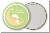 Over The Moon - Personalized Baby Shower Pocket Mirror Favors