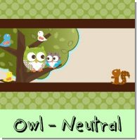 Retro Owl Birthday Party Theme