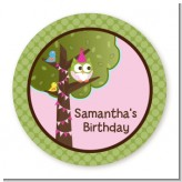 Owl Birthday Girl - Personalized Birthday Party Table Confetti