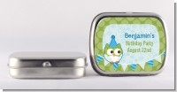 Owl Birthday Boy - Personalized Birthday Party Mint Tins
