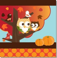 Owl Fall Baby Shower Theme