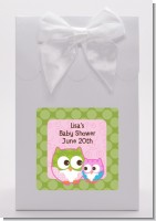 Owl - Look Whooo's Having A Girl - Baby Shower Goodie Bags