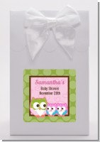 Owl - Look Whooo's Having Twin Girls - Baby Shower Goodie Bags