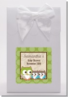 Owl - Look Whooo's Having Twins - Baby Shower Goodie Bags