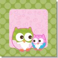 Owl - Look Whooo's Having A Girl Baby Shower Theme thumbnail