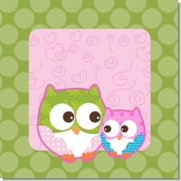 Owl Girl Baby shower Theme