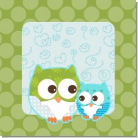 Owl Boy Baby shower Theme