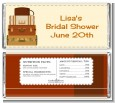 Pack Your Bags Destination - Personalized Bridal Shower Candy Bar Wrappers thumbnail