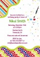 Paint Party - Birthday Party Invitations thumbnail