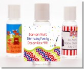 Paint Party - Personalized Birthday Party Hand Sanitizers Favors