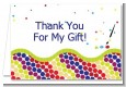 Paint Party - Birthday Party Thank You Cards thumbnail