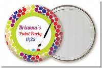 Paint Party - Personalized Birthday Party Pocket Mirror Favors