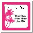 Palm Tree - Personalized Bridal Shower Card Stock Favor Tags thumbnail