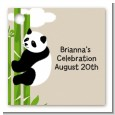 Panda - Personalized Baby Shower Card Stock Favor Tags thumbnail