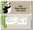Panda - Personalized Baby Shower Candy Bar Wrappers thumbnail