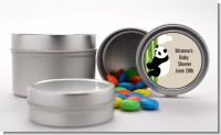 Panda - Custom Baby Shower Favor Tins