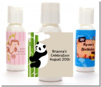 Panda - Personalized Baby Shower Lotion Favors