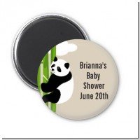 Panda - Personalized Baby Shower Magnet Favors