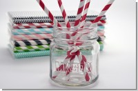 Baby Shower Decorative Paper Straws