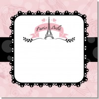Paris Baby Shower Theme Ideas