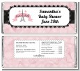 Paris BeBe - Personalized Baby Shower Candy Bar Wrappers thumbnail