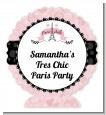 Paris BeBe - Personalized Baby Shower Centerpiece Stand thumbnail
