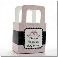 Paris BeBe - Personalized Baby Shower Favor Boxes