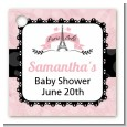 Paris BeBe - Personalized Baby Shower Card Stock Favor Tags thumbnail
