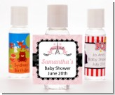 Paris Bebe - Personalized Baby Shower Hand Sanitizers Favors