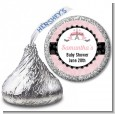 Paris BeBe - Hershey Kiss Baby Shower Sticker Labels thumbnail