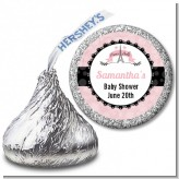 Paris BeBe - Hershey Kiss Baby Shower Sticker Labels