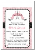 Paris BeBe - Baby Shower Petite Invitations