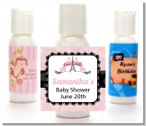 Paris Bebe - Personalized Baby Shower Lotion Favors