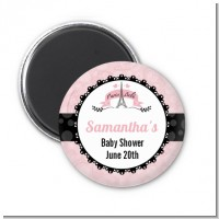 Paris BeBe - Personalized Baby Shower Magnet Favors