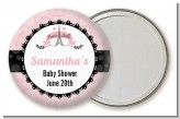 Paris BeBe - Personalized Baby Shower Pocket Mirror Favors