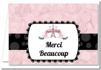 Paris BeBe - Baby Shower Thank You Cards