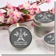 Efiel Tower - Bridal | Wedding Candle Favors thumbnail
