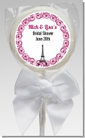 Paris - Personalized Bridal Shower Lollipop Favors