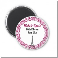 Paris - Personalized Bridal Shower Magnet Favors