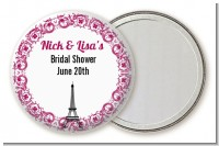 Paris - Personalized Bridal Shower Pocket Mirror Favors